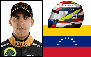 Full Name: Pastor Rafael Maldonado Motta Nationality: Venezuelan Height: 1.73m. Weight: 63kg. DOB: 10th March 1985. Debut Age: 26 years, 17 days - Maldonado